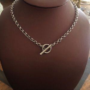 Jewelry - 925 Toggle Choker Necklace